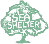 Sea Shelter Sticky Logo